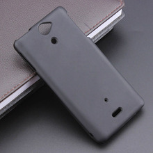 Black Gel TPU Slim Soft Anti Skiding Case Back Cover for Sony Xperia V LT25i Mobile Phone Rubber silicone Bag Coque Fundas