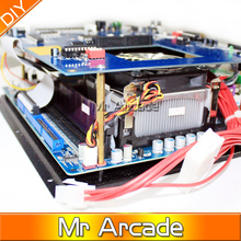 2 pcs of 2019 in 1 game board with 40G HDD CPU for Multi2.4G CPU40G without ATX power supply high resolution classical game king(China)