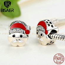 Buy 925 Sterling Silver Merry Christmas Santa Claus Beads Charms Fit Pandora Charm Bracelets & Bangles Fine Jewelry Making Gift for $8.04 in AliExpress store