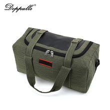 DOPPULLE Fashion brand Men Travel Bags Large Capacity 38-42L Women Luggage Duffle Bags Canvas Folding Bag Trip Waterproof bag