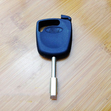 Free shipping ,car key shell case cover  for ford mondeo (can install chip)    with logo