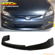 For 03-05 Honda Accord Coupe 2DR HFP Style Polyurethane Front Bumper Lip Bodykit US Domestic Free shipping