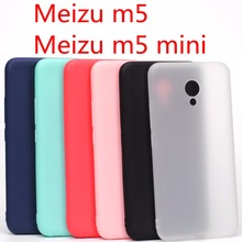 Meizu m5 case Meizu m5 mini case Cover Silicone TPU case for Meizu m5 mini Ultra thin Crystal colors Soft
