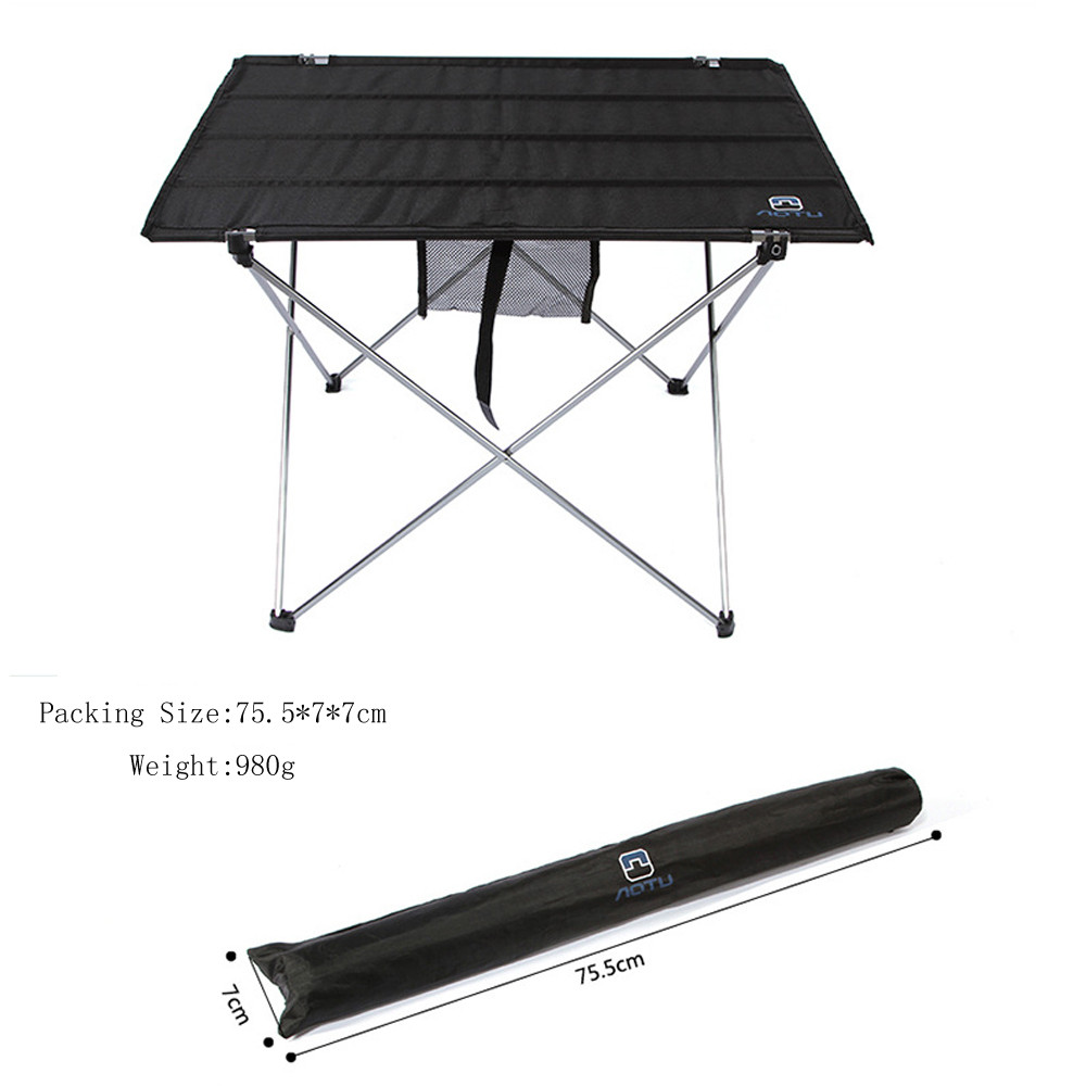 11.11 Outdoor Folding Aluminum Alloy Aablecloth Large Table<br>
