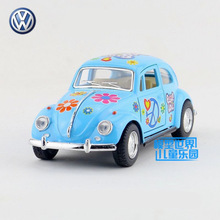 Free Shipping/KiNSMART Toy/Diecast Model/1:32 Scale/1967 Volkswagen Classical Beetle Special/Pull Back Car/Collection/Gift/Kid
