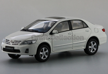 White Toyota New Corolla 2012 Alloy Model Diecast Show Car Replica 1:18 Collectable Diecast Slot Cars Original Factory