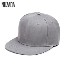 Brand NUZADA Hip Hop Hats Men Women Baseball Caps Snapback Solid Colors Cotton Bone European Style Classic Fashion Trend(China)