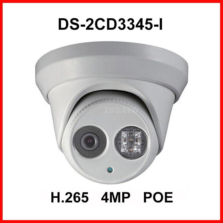 DS-2CD3345-I 4MP IR Network Dome IP Security CCTV POE Camera H.265 IPC Dot IR 30M Night Vision Surveillance Digital Webcam 1080P<br><br>Aliexpress