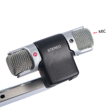 2017 New Mini Stereo Microphone Digital Mic 3.5mm Interface Mini Jack for PC Laptop Notebook Mobile Phone