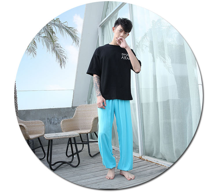Baggy Pants Women Plus Size Women Pants 19 Summer Women Solid Color Casual Loose Harem Pants Trousers Pantalon Femme Pantalon 26