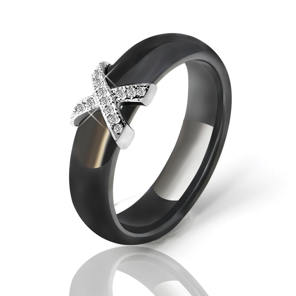 ceramic ring man black
