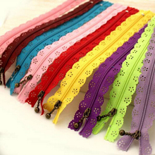 10Pcs 20cm DIY Nylon Coil Lace Zipper for clothes Invisible Zippers Tailor Sewing Zip Closure Craft Tool Sewing accessories 2017