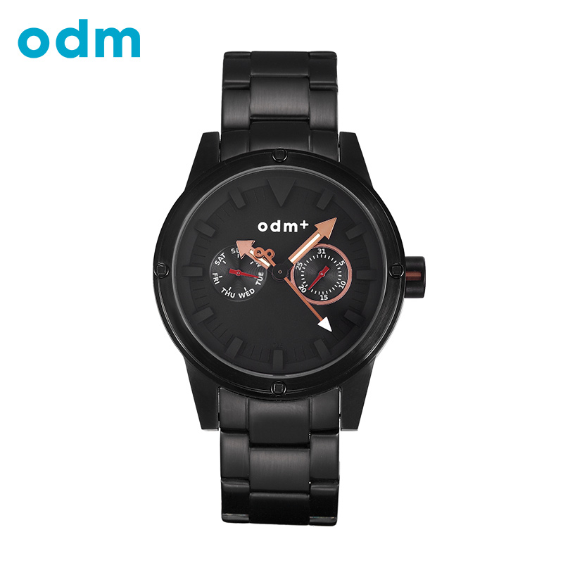 ODM Luxury Brand Men Quartz Watch Mens Full Stainless steel Quartz Wristwatch 5ATM Waterproof Luminous relojes hombre 2017 008<br>