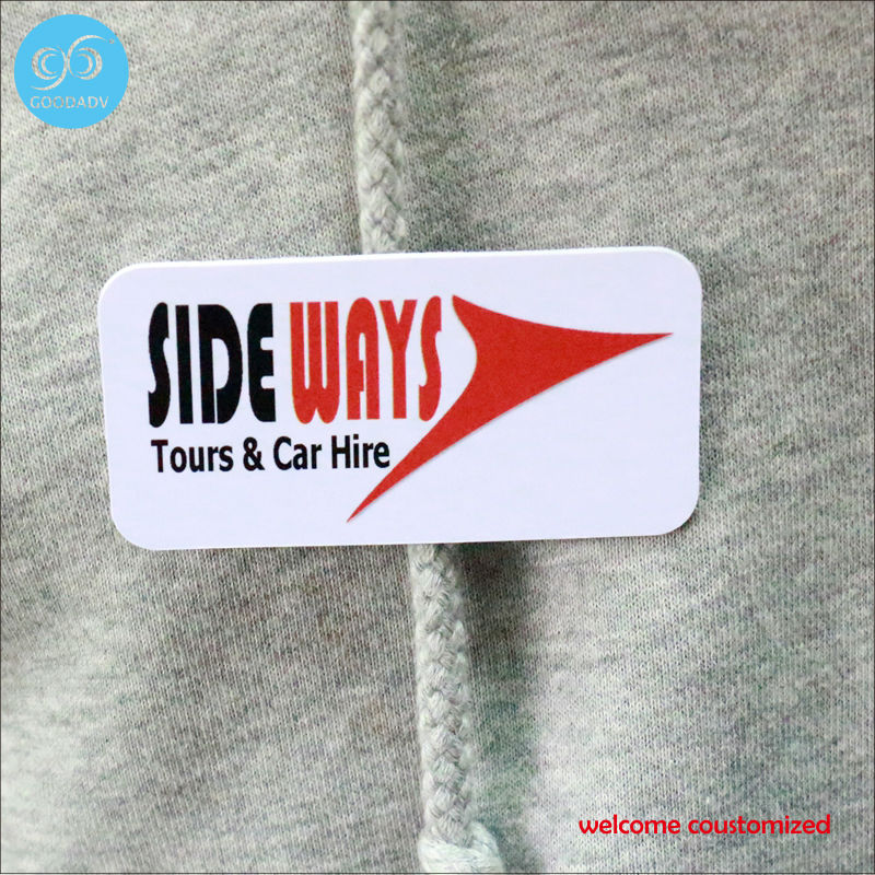 2017 China manufacturer Promotion promotional badge eco-friendly durable square plastic badge free shipping custom design only(China)