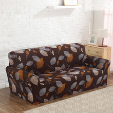 Sofa Cover 2017 Elastic Sofa Slipcovers Cheap Cloth Printed Art Spandex Loveseat Sofa Couch Covers Home