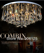 Uttermost Fascination Mordern Dimmable Crystal Ceiling Light fixtures 60cm /80cm/100cm  Guaranteed 100%+Free shipping!