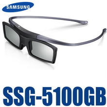 New Bluetooth 3D Shutter Active Glasses for Samsung SSG-5100GB 3DTVs Universal TV cardboard Free Shipping(China)