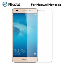 0.26mm Explosion-proof Tempered Glass Film For Huawei Honor 5C Honor5C 5C Dual SIM Front LCD Screen Protector pelicula de vidro(China)