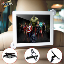 "KISSCASE 7""-11"" Car Back Headrest Mount Stand Holder For iPad Mini 1 2 3 4 5 Air 2 360 Degree Rotate Tablet Accessories Bracket"