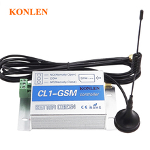 gsm relay sms call remote controller gsm gate opener switch for control home appliance water pump motor rolling door on off(Hong Kong)
