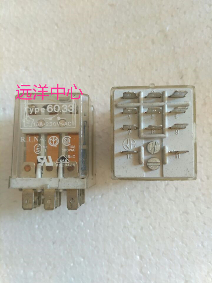 Type60.33 24VDC  1110A<br>