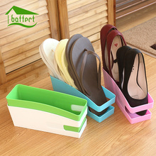 High-capacity Plastic Shoes Storage Box Home Furnishing Wardrobe Shoes Organizer Women Cosmetic Organizers Stationery Pen Holder(China)