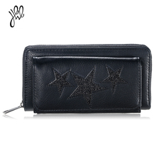 Buy Women Wallet 2017 PU Leather Luxury Brand Fashion Star Wallets Long Zipper&Hasp Coin Purse Lady Purse Big Female Wallets500584 for $11.57 in AliExpress store