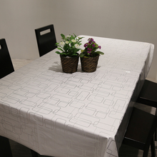 PVC Simple Modern Table Cloth Rectangular Waterproof Oil Resistance Non Wash Houdehold Mat Dining Tablecloth