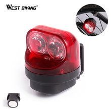 WEST BIKING Waterproof Self-Powered Cycling Bike Taillights Magnetic Induction Bicycle Rear Light Night Warnning MTB Bike Lights(China)