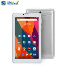 Original iRULU X6 7'' Tablet Quad Core 3G Phablet ROM 16GB Android 7.0 GPS 2800mAh Bluetooth WiFi Dual Cam 2MP Faster Speed GMS(China)