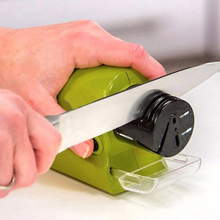 Multifunction Electric Knife Sharpener Ceramic&Diamond Knife Sharpening Stones Sharpening System Grindstone Kitchen Tool