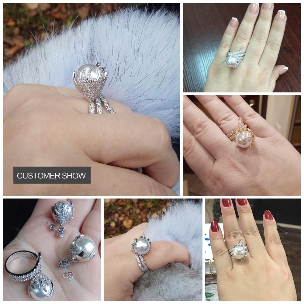 pearl rings 16
