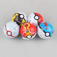 Japan Animation Pokeball Unique Style 8cm Model Toys PVC Action Figure Children Birthday Gift