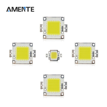 DC 12V 36V 10W 20W 30W 50W 100W White/Warm White LED Light Chip COB Integrated LED Diodes For DIY Spotlight Bulb