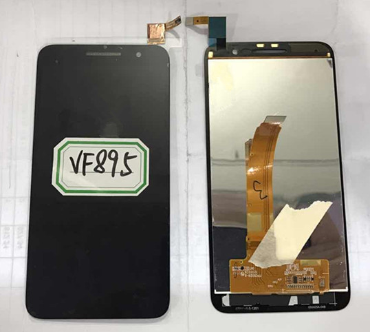 LCD Screen display+touch Digitizer For Alcatel VF895 Vodafone Smart Prime 6 black color free shipping<br><br>Aliexpress