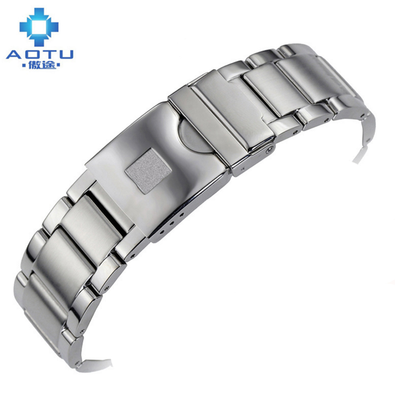 Stainless Steel Watch Strap For Tissot 1853 T095 Casual Men Watchband Fitbit Blaze Male Watch Band Bracelet Erkek Saat Kordonu<br>
