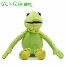 1pcs 40cm THE FROG PLUSH SOFT TOY THE MUPPETS SHOW FILM TEDDY for baby kids christmas dolls for children