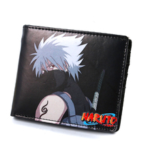 2017 New Conan One Piece Naruto Japanese Anime Character Design Men Short Wallet Cartoon ID Cards Holder Bag Women Coin Carteira