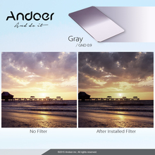 Andoer Z Series 100x150mm Soft Square Filter Graduated Neutral Density GND8 Grad ND 0.9 for Lee and Cokin Z-Pro Holders(China)