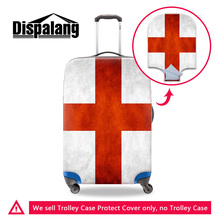 Dispalang 2017 fashion England Israel Flag covers for trolley suitcase national flag elastic waterproof luggage protective cover