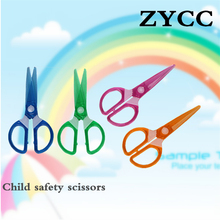 Plastic scissors /Safety scissors for children/Not to hurt the hand paper cutting knife free shipping