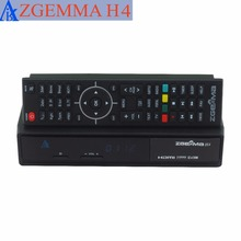 2 pcs/lot zgemma H4 cable tv box triple cable tuner 3 * dvb c support picture in picture