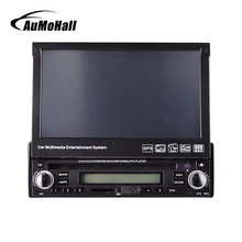 "AuMoHall 7"" HD Touch Screen Car DVD Player Radio GPS Navigator 1 DIN Detachable Car Video Player(China)"