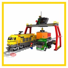 City Train Station 25004 792PCS Educational Building Model Block Compatible with lepin Technic toys for children(China)