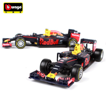 Maisto Bburago 1:43 2016 F1 Formula 1 Red Bull Racing TAG Henuer RB12 No.33 Max Verstappen Cars Diecast Metal Car Model Toy Gift(China)
