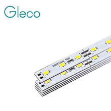10pcs Super Bright DC12V LED Bar Light 5730 Hard Strip Bar light SMD 5730 5630 50cm 36 led Aluminum Led Strip light For Cabinet(China)