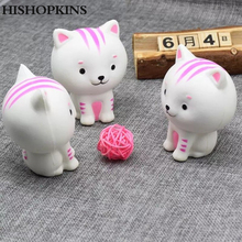 2017 Fashion unique CatKittyPussy Squishy cute kitten children's toys slowly rising boy girl toy simulating elastic funny gift(China)