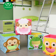Home Office groceries Foldable Storage Box toy Basket Underwear Socks Ties case Clothes Containers drawers for book