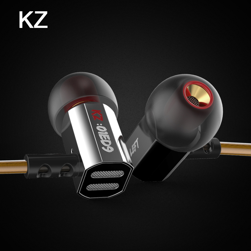Original For xiaomi KZ ED9 HiFi Earbuds Headsets with Mic Stereo Earphone Handsfree wired Earphones for mp3 For iphone Headset<br><br>Aliexpress