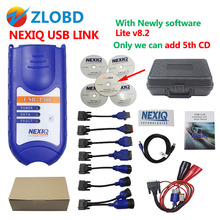 ZOLIZDA Hot Sale NEXIQ Auto Heavy Duty Truck Scanner tool NEXIQ USB Link on sale nexiq 125032 usb link NEXIQ-USB LINK DHL Free(China)